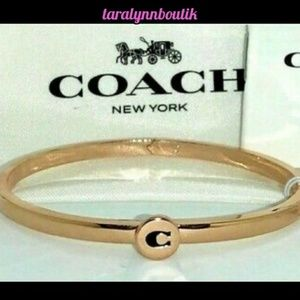 🎀Coach|Signature C Hinged Bangle🎀